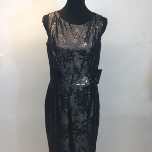 Taylor dress with lots of Bling ! Size 10